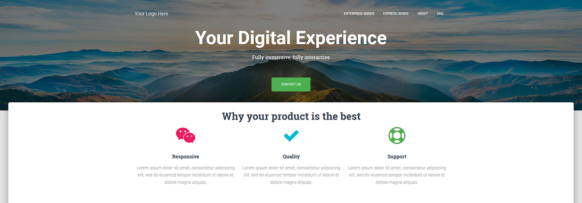 Digital Experience with Interactive Website Design